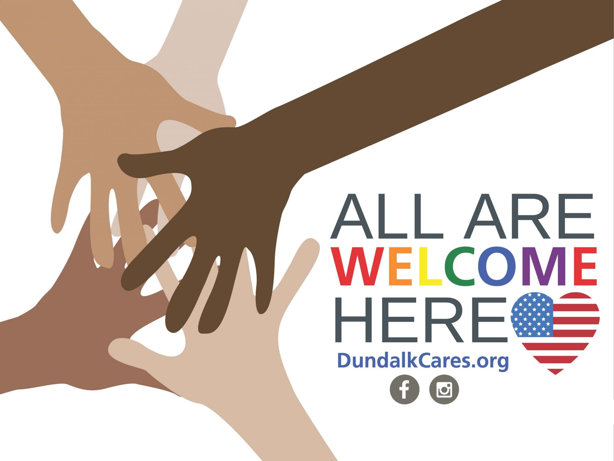 All Are Welcome Here Dundalk Cares